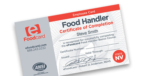 Carson City Food Handlers Card Allaboutcaring